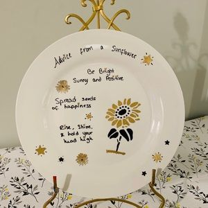 "Gift Idea 10"" Decorative Ceramic Display Plate"